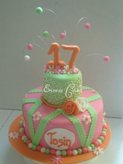 17 birthday cake designs