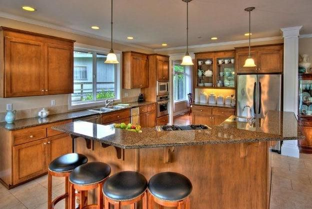 very large kitchen islands home pinterest
