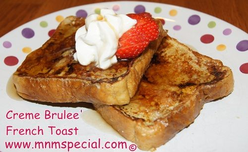 creme brulee french toast | Breakfast Recipes | Pinterest