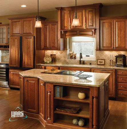 Haas cabinets federal door style kitchen bath bar for Federal style kitchen