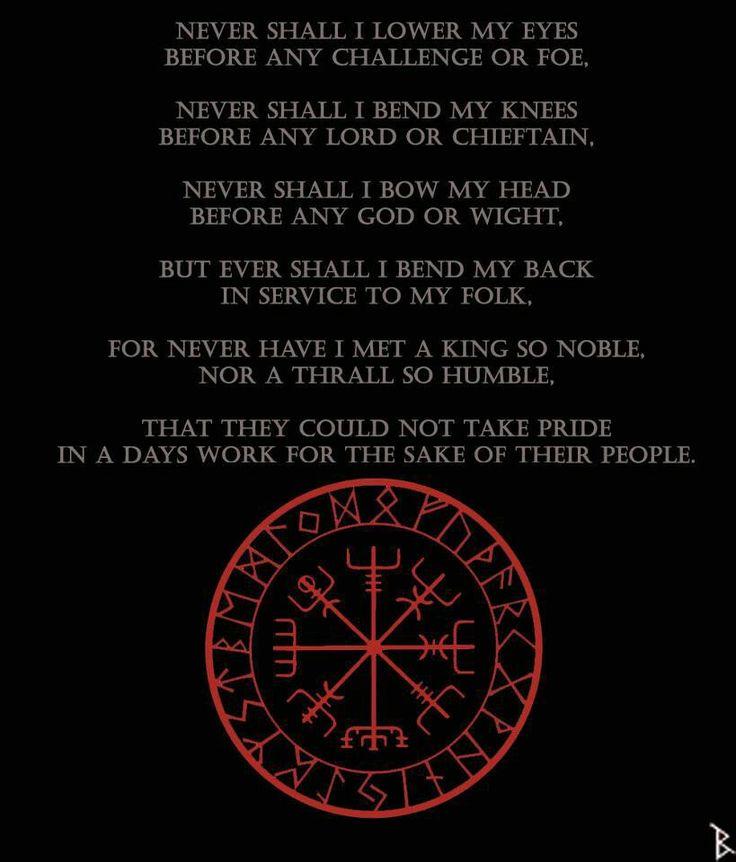 Norse Pagan Quotes Quotesgram: Asatru Quotes. QuotesGram