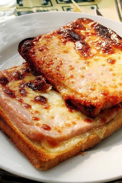 Croque monsieur. I know, I know…I keep coming back to French. But ...