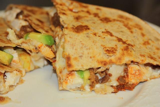 Chicken Bacon and Avocado Quesadillas | Favorite Recipes | Pinterest