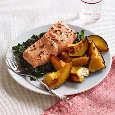 Thyme-Roasted Salmon | Recipe