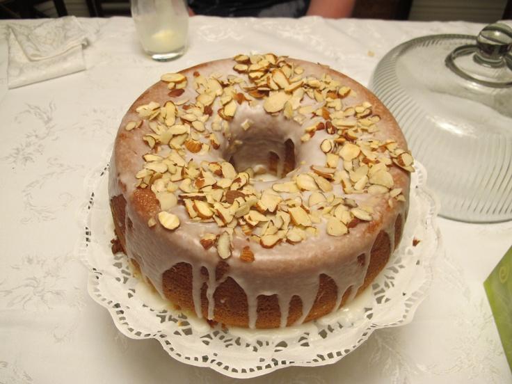 Amaretto Almond Pound Cake Thanksgiving! | Sweet Treats! | Pinterest