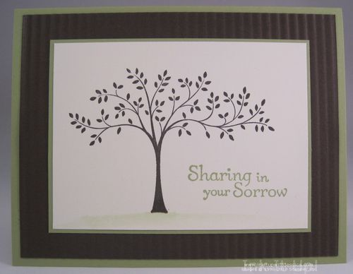 Pinterest stampin up sympathy cards myideasbedroom com