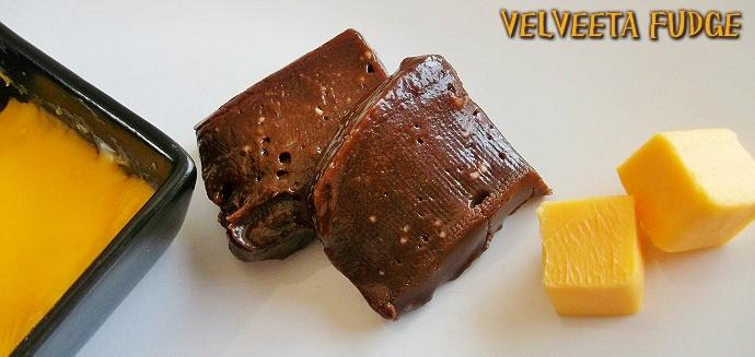 Velveeta Fudge #VelveetaRecipes #shop #cbias