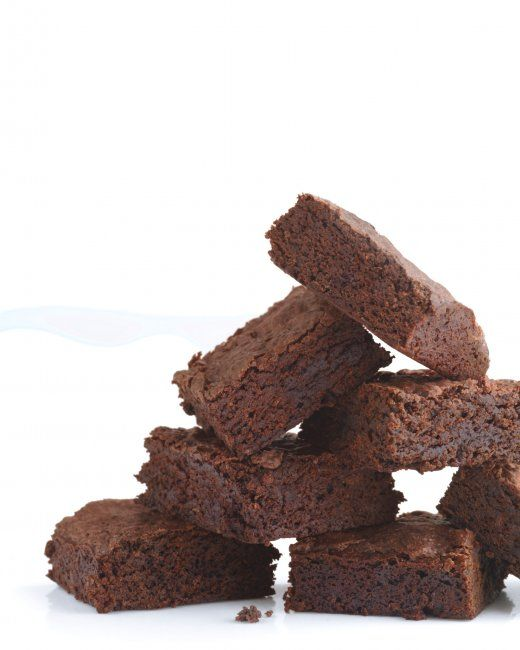 Triple-Chocolate Brownies (Made with black beans instead of butter!)