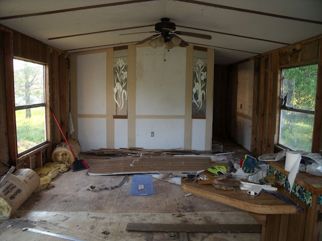 My Little Mobile Home Remodel Mobile Homes Pinterest