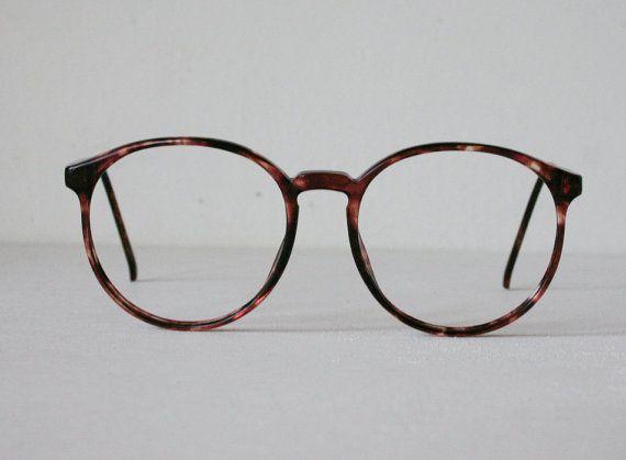 Japanese Tortoiseshell 1980s Circular Eyeglasses ...