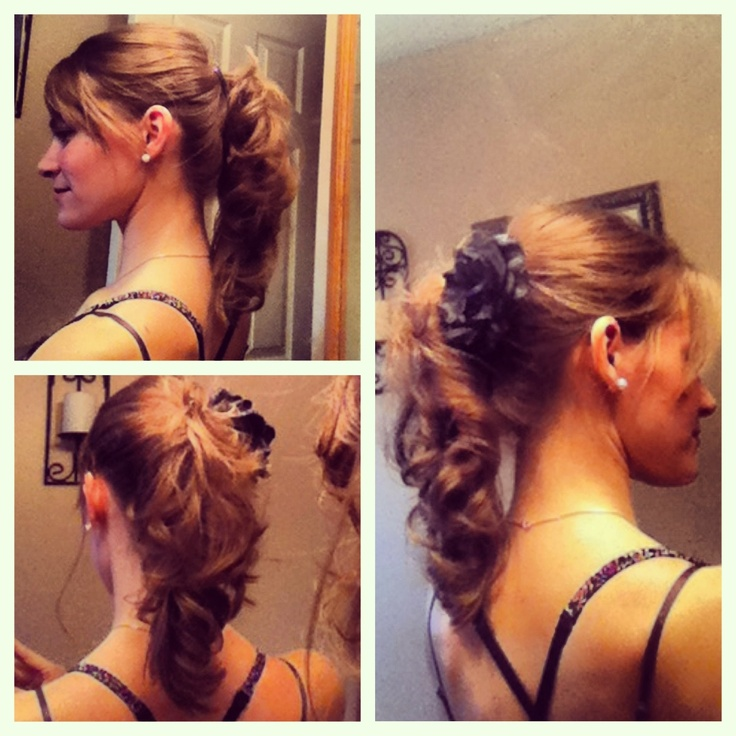 Gallery For > Banana Clip Hairstyles