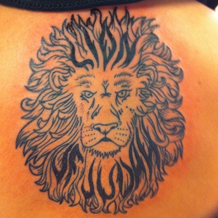 Lion of Judah Shoulder Tattoos