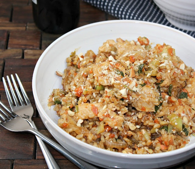 Chicken Fried Rice With Bok Choy Recipe — Dishmaps