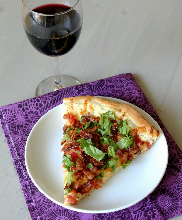 ... Pizza! @Jane Izard Weddle I bet this is similar to the salad pizza