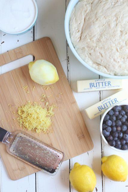 Blueberry Lemon Sweet Rolls | Bakin' Friends | Pinterest