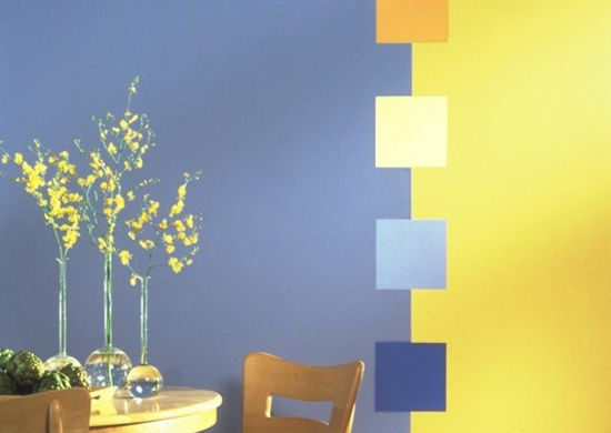 Abstract wall paint design Color My Walls Pinterest