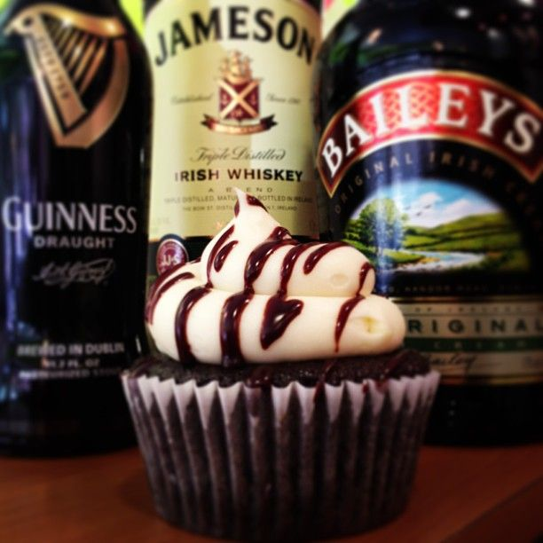 Bomb: Guinness chocolate cake filled with Jameson whiskey chocolate ...