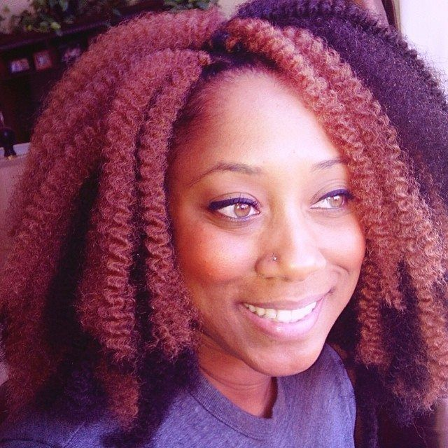 Crochet Hair Styles Marley Hair : Crochet Marley hair Braids & Natural Hair Pinterest