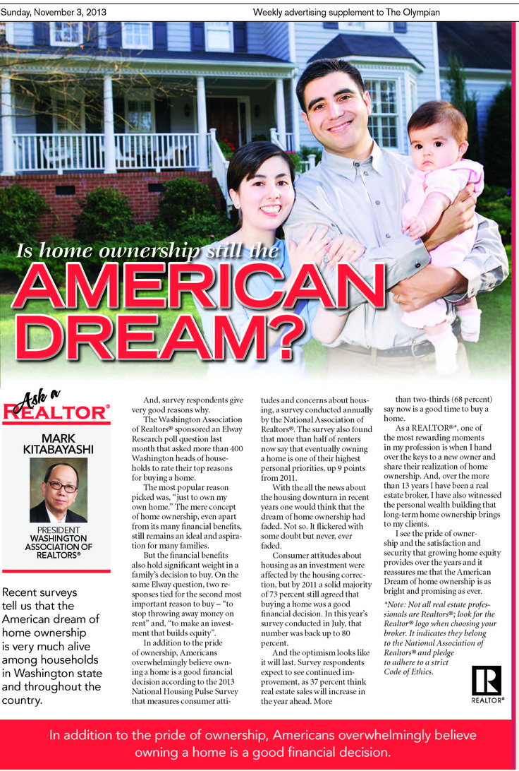 article homeownership still american dream