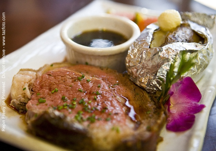Royal Hawaiian Prime Rib - Well-seasoned, slow-roasted served with a ...