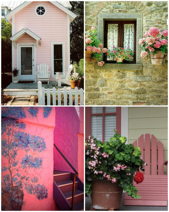Precious Pink Hideaway Photography Collection by Suzanne MacCrone Rogers via ItalianGirlinGeorgia on Etsy
