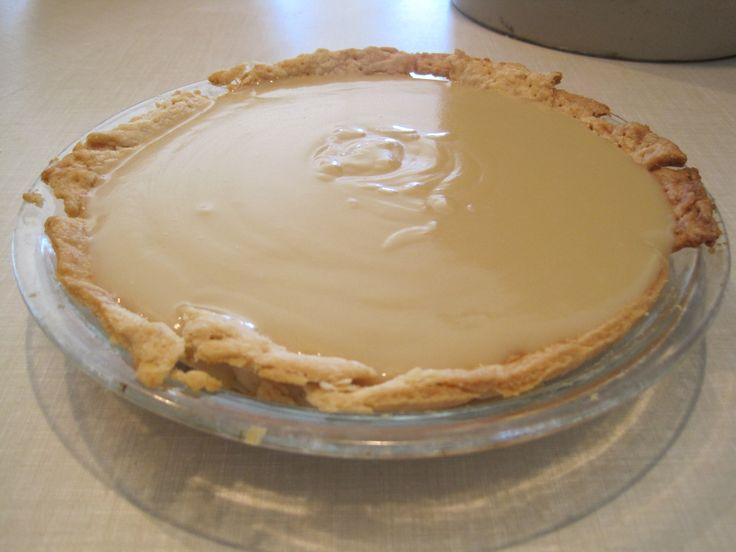 Butterscotch pie | Food: Dessert | Pinterest