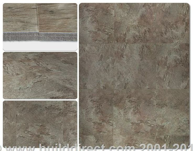 Ovio vinyl tile 3mm stone age collection natural for Linoleum that looks like stone