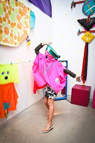 Costumes provided by the lovely Misaki Kawai - our spring exhibition artist.