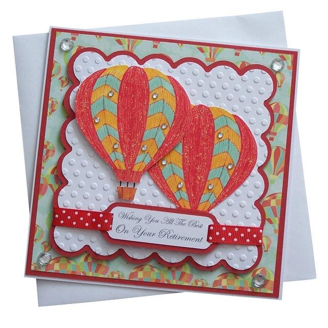 Handmade Retirement Card £1.80 | Retirement cards | Pinterest