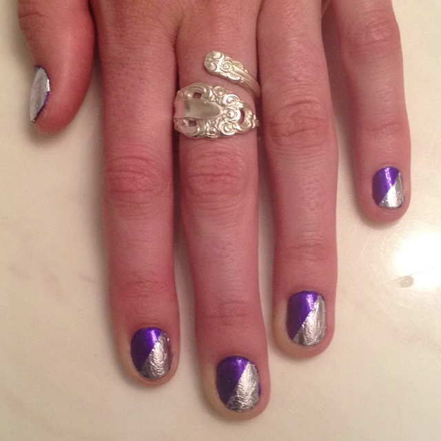 valentine nails diy