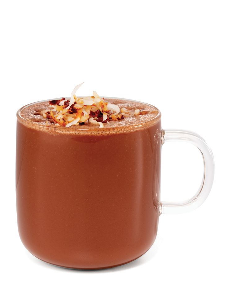 from FoodNetwork.com Coconut Hot Chocolate, just skip the coconut rum ...
