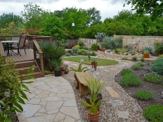 Xeriscaped Backyard Design : Xeriscaped yard  Yard  Pinterest
