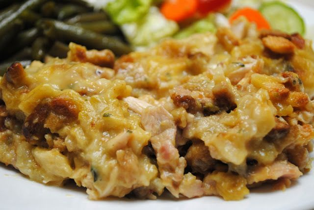 chicken and stuffing bake | Recipes | Pinterest