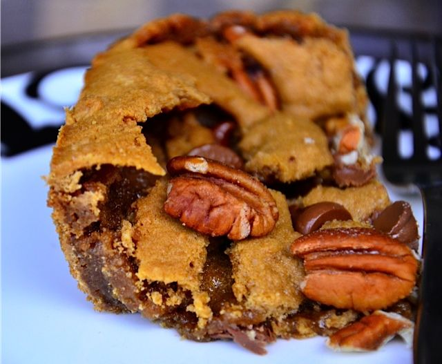 Salty Sweet Butterscotch Brownies (ReluctantEntertainer.com) | Recipe