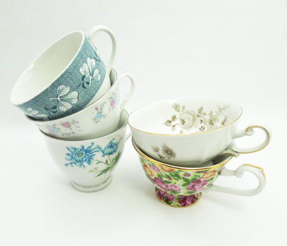 Five Teacups Tea Cups