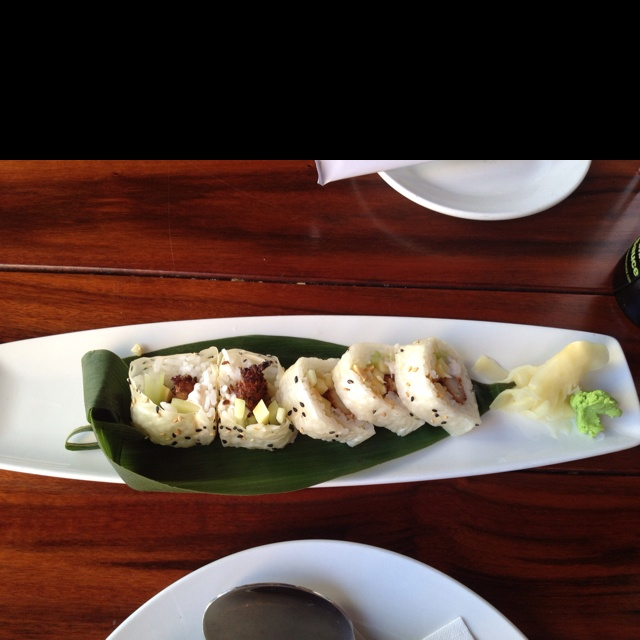 Kona Grill: Coconut Shrimp Roll | Food | Pinterest
