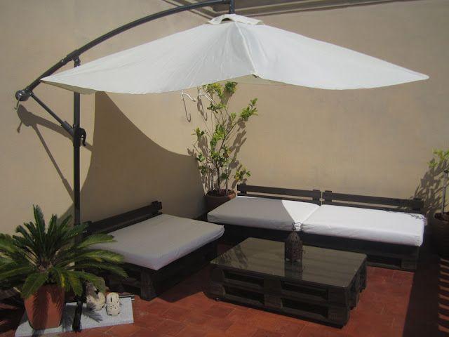 Pallet patio furniture estilo pinterest
