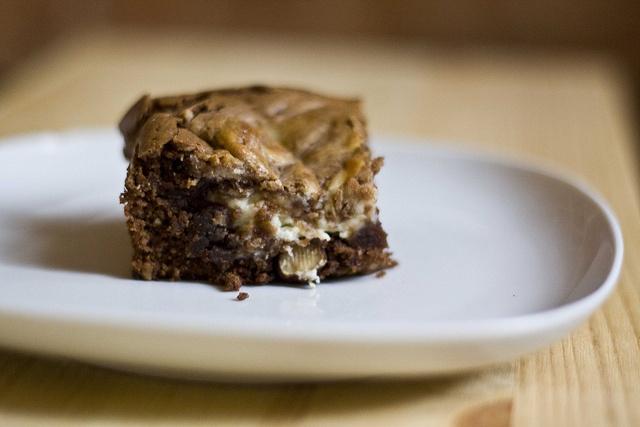 Cheesecake marbled brownies | Sweet | Pinterest