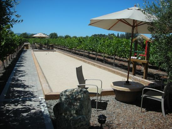 hmmm maybe for our retreat center a backyard bocce court