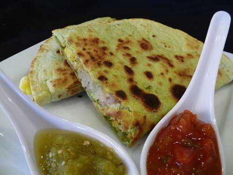 Breakfast Burrito Quesadilla Recipe — Dishmaps