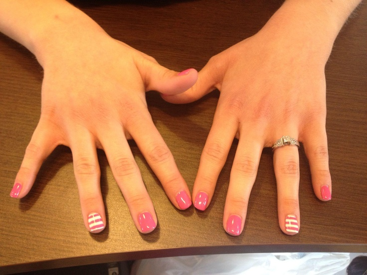 Shellac Manicure / The Fringe Cut & Academy / 45 West 300 South