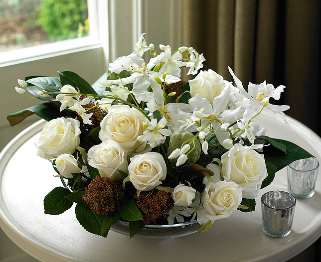 Fresh And Creamy White This Generous Bowl Of Glorious Silk English