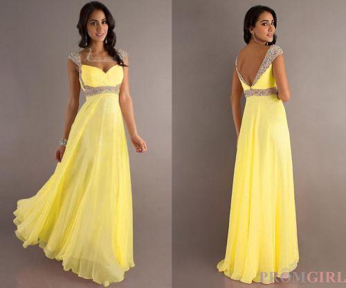 Выпускное платье цвета шампань