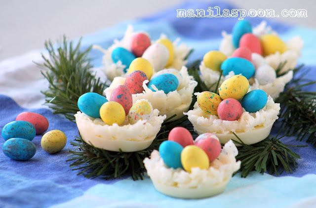 Manila Spoon: White Chocolate and Coconut Egg Nests - super cute and ...