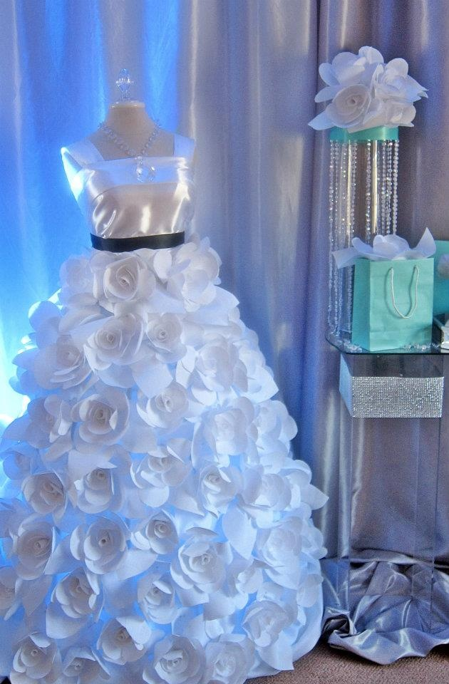 Paper dress bridal party pinterest for How to make a wedding dress