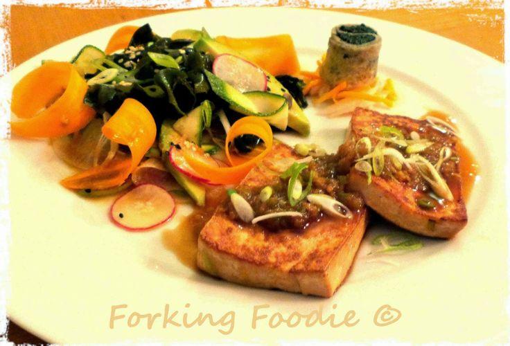 Soy, Ginger and Sake Marinated Tofu Steaks, 142 calories per serving ...