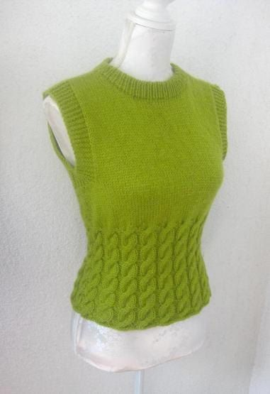 Green Handknit Sweater 10