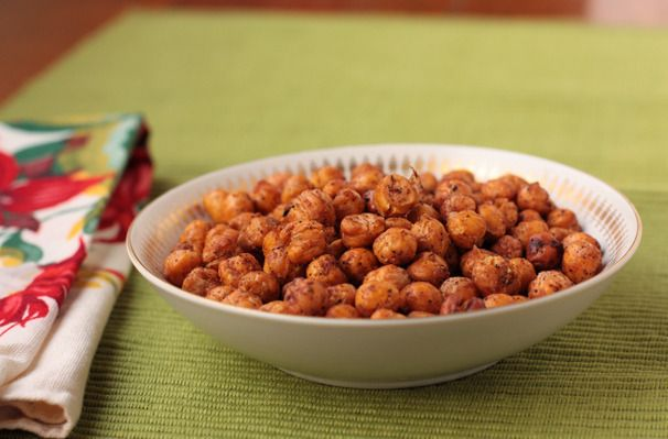 Spice-Roasted Chickpeas | Food Findings | Pinterest