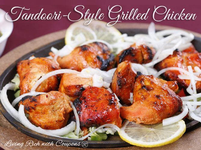 Tandoori-Style Grilled Chicken | Recipes | Pinterest