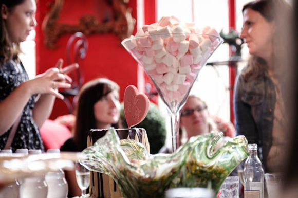 We are going to have something like this as our table centres... different glasses, different sweets!! From lovemydress.